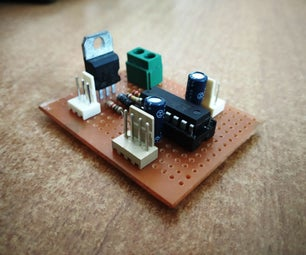 Power Efficient Motor Driver Board