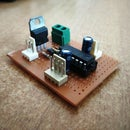 Power Efficient Motor Driver Board