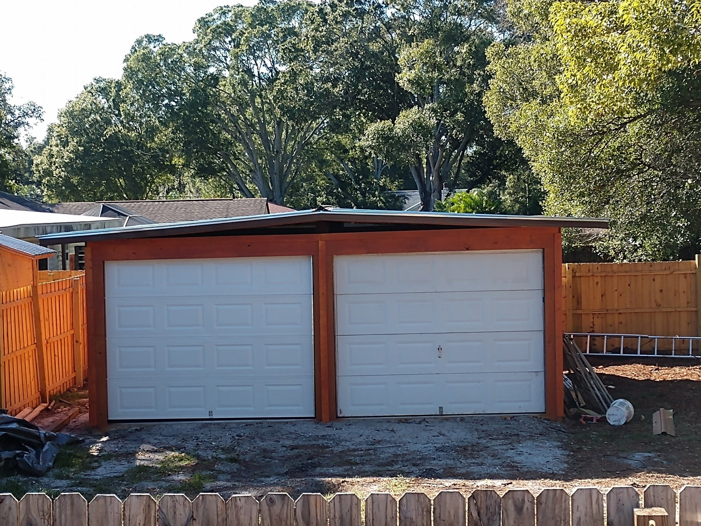 Garage Is Finished