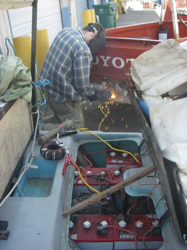 Cutting Steel With a Stick Welder