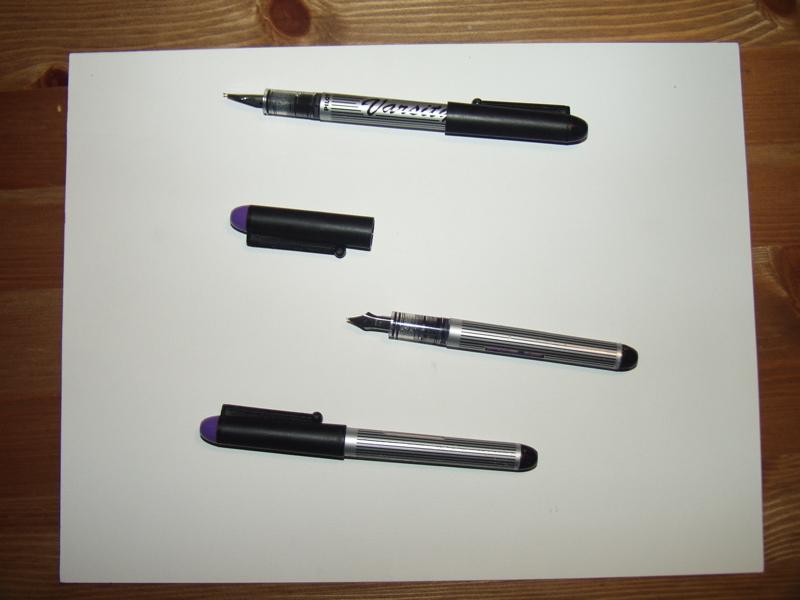 Disposable Fountain Pen Refills