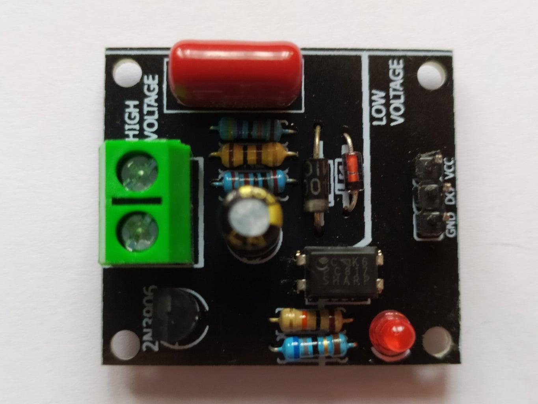 Arduino AC 220V/110V Voltage Detector
