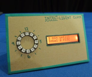 Make an Intelligent Desk Clock, Written in JavaScript, Powered by the Intel Edison