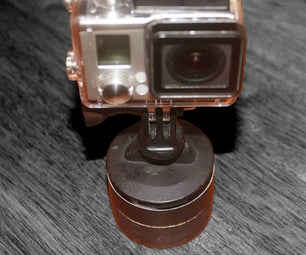 Panning Timelapse Rig From a Kitchen Timer