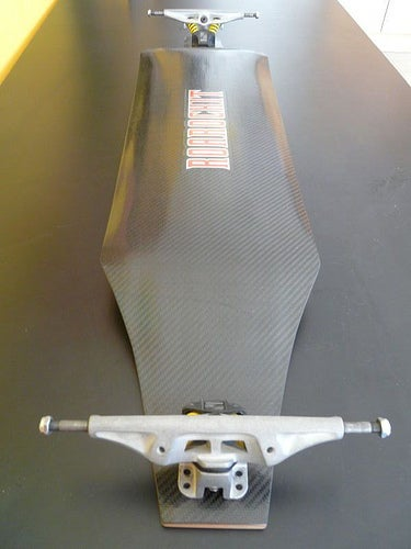 How to Cut and Apply Carbon Fiber to a Skateboard