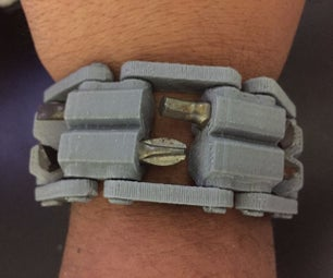 3D Printed Tool WristBand W/ Minimal Assembly