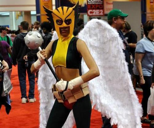 """How to Make a DC: """"Hawkgirl"""" Costume"""