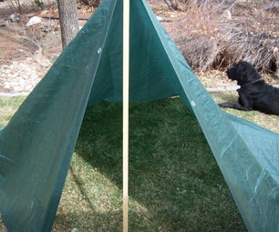 The Ultimate Tarp Survival Shelter/Backpacking Tent