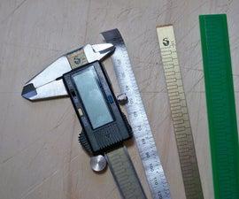 Reengineering the Stator of a Digital Caliper