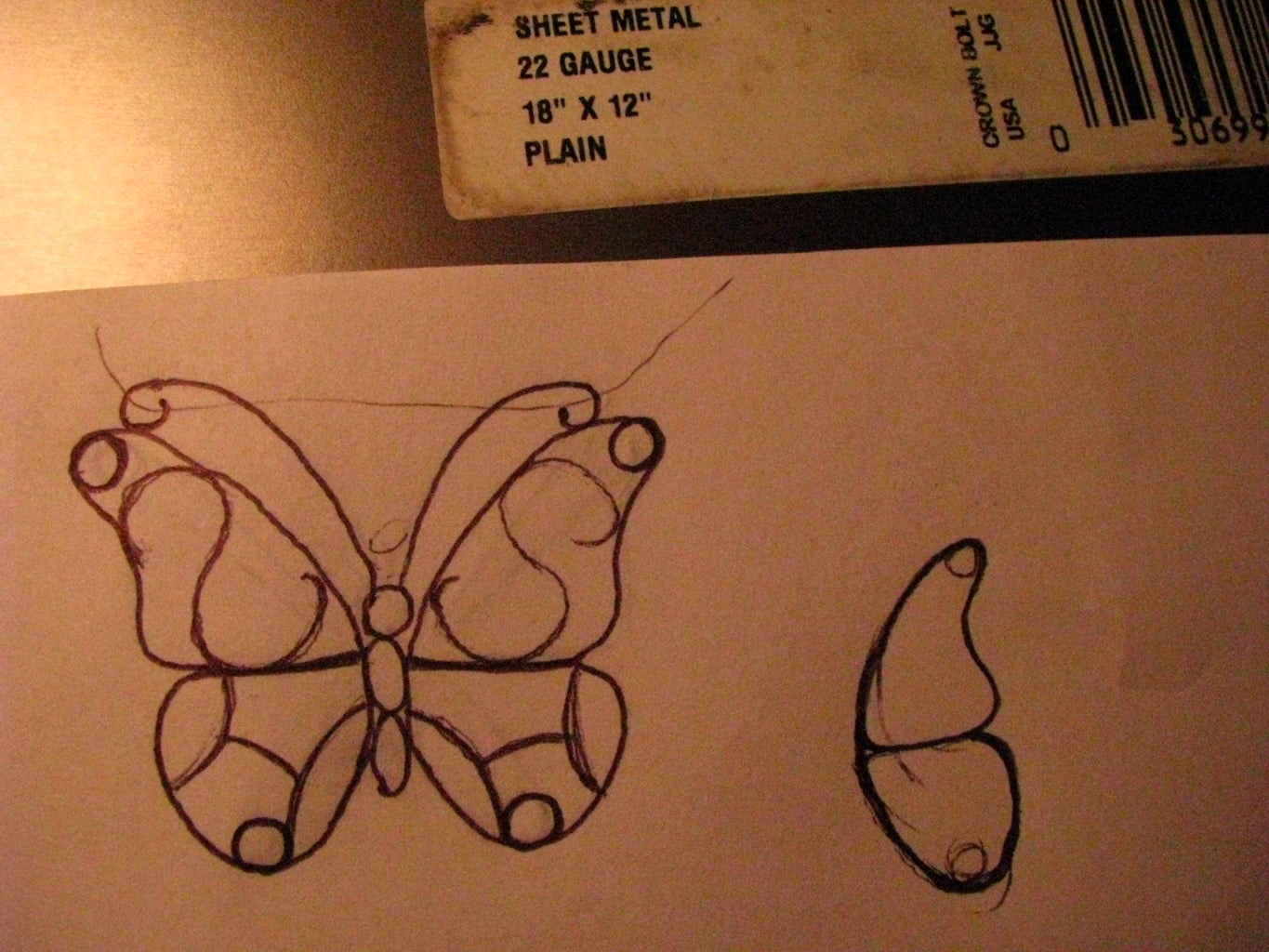 Draw Out Your Butterfly