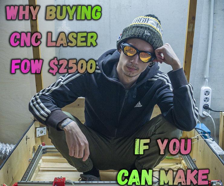 DIY 40W CO2 CNC Laser