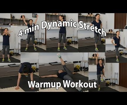 Quick Dynamic Warm Up for Full Body Workout