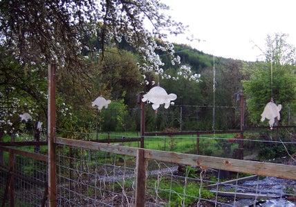 Kinetic Fence Art / Deer Deterrent