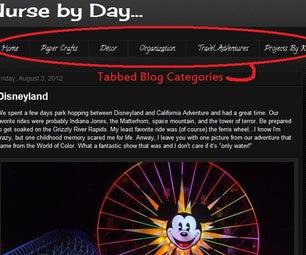 Blogger Categorical Post Tabs