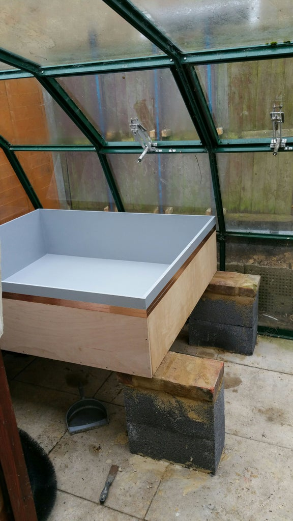 Put the Grow Bed in Place.