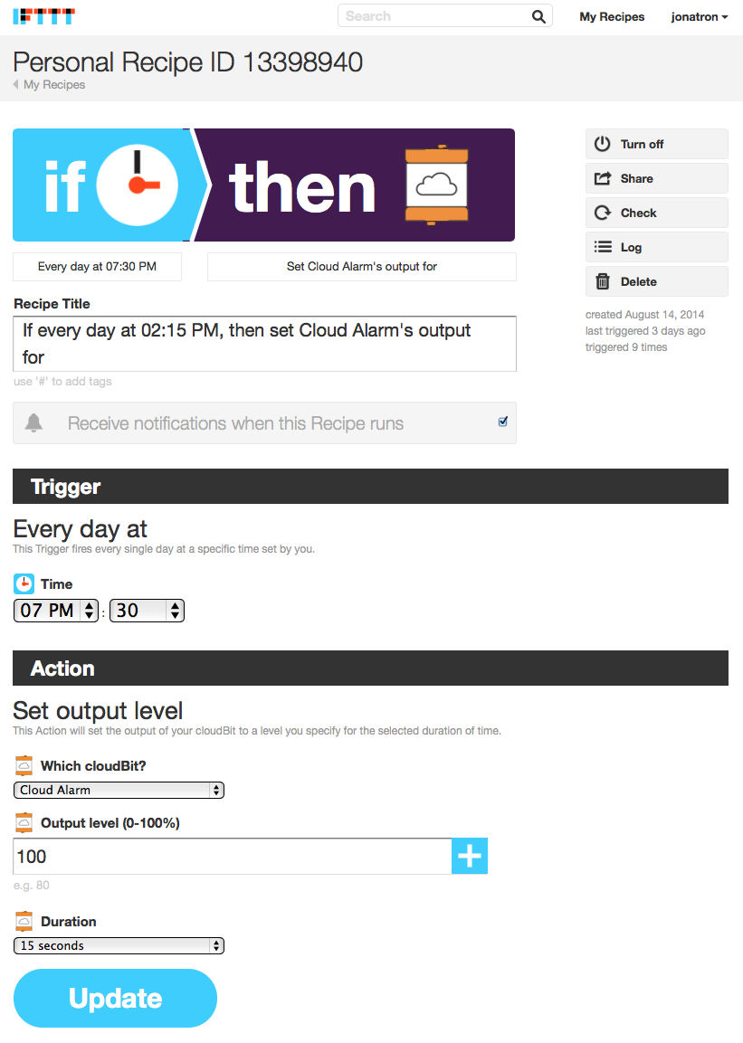 IFTTT: If This Then That.