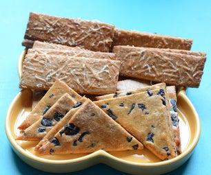 Parmesan-Olive Savory Cookie