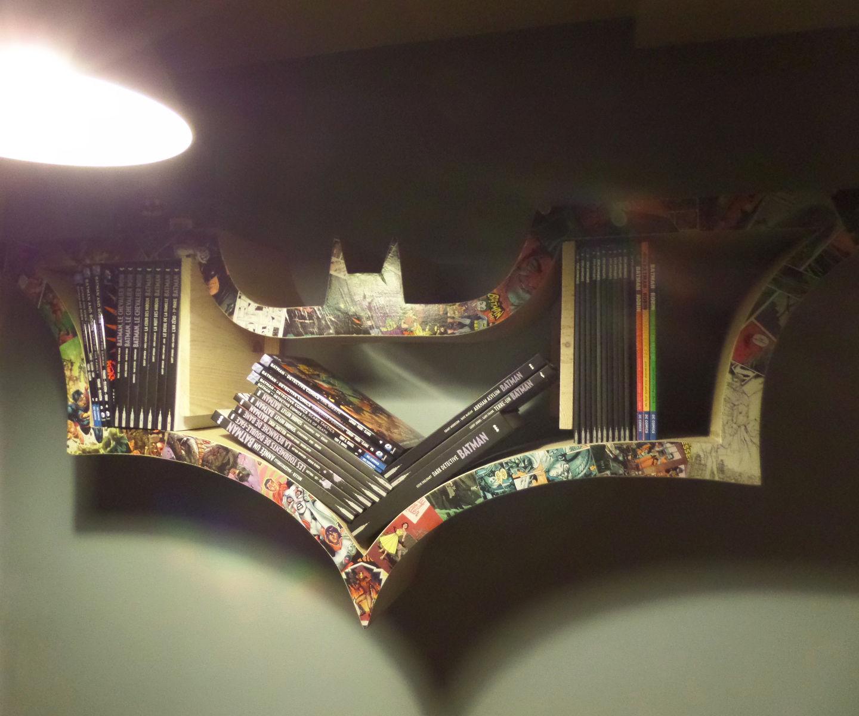 How to make a BAT-bookshelf