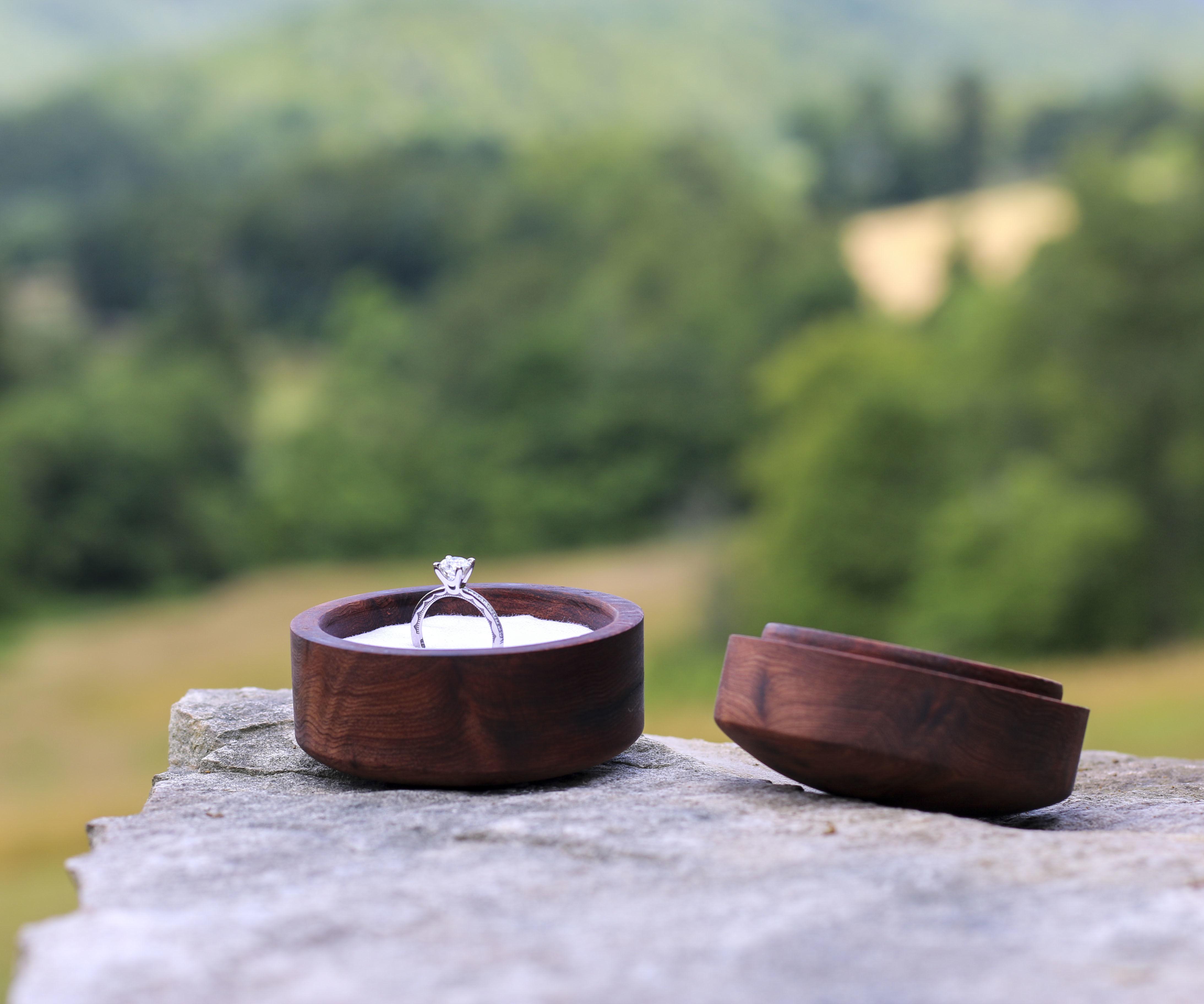 Woodturned Ring Box