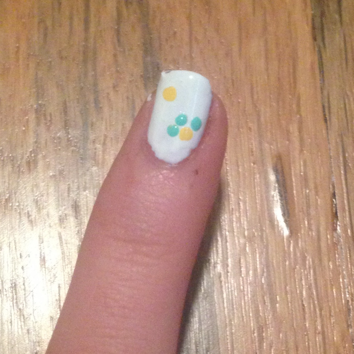 How To Make A Flower Nail Design 9 Steps With Pictures Instructables