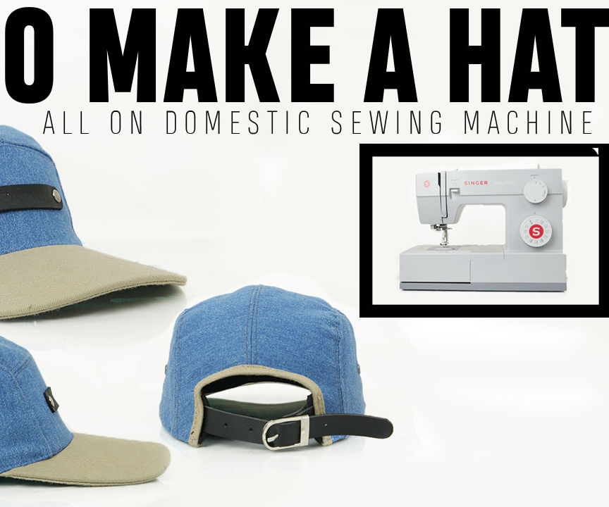 How to Make 5-panel Hat