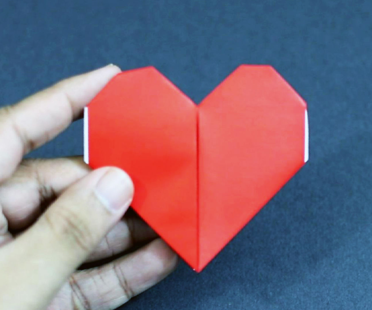 Easy Origami Heart Valentine's Day Gift Idea!