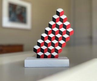 Cubes Illusion Sculpture