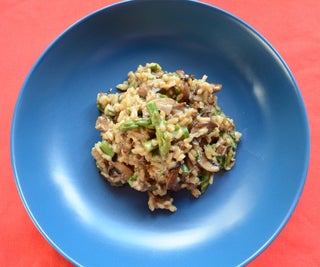 Wild Mushroom Risotto (Made With Dried Porcini)