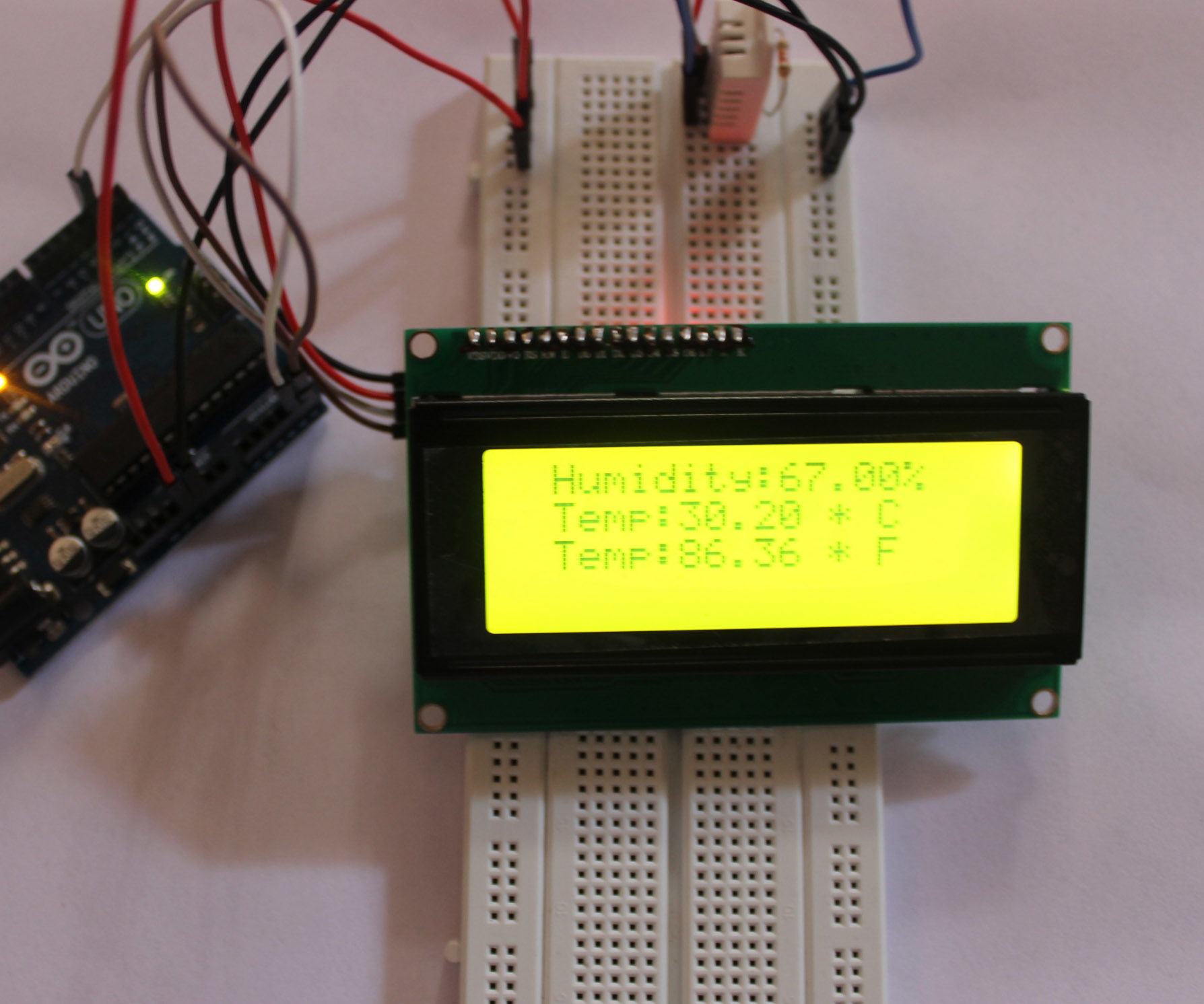 Mini Weather Station With Arduino