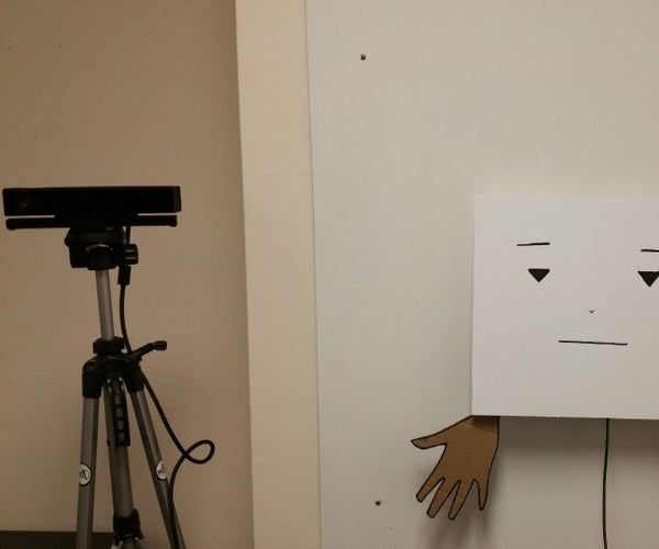 Marvin: Wall-Mounted Bot That Gestures
