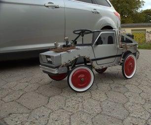 自定义delorean pedalcar.