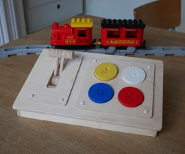 Wooden Bluetooth Remote for Lego Duplo Train