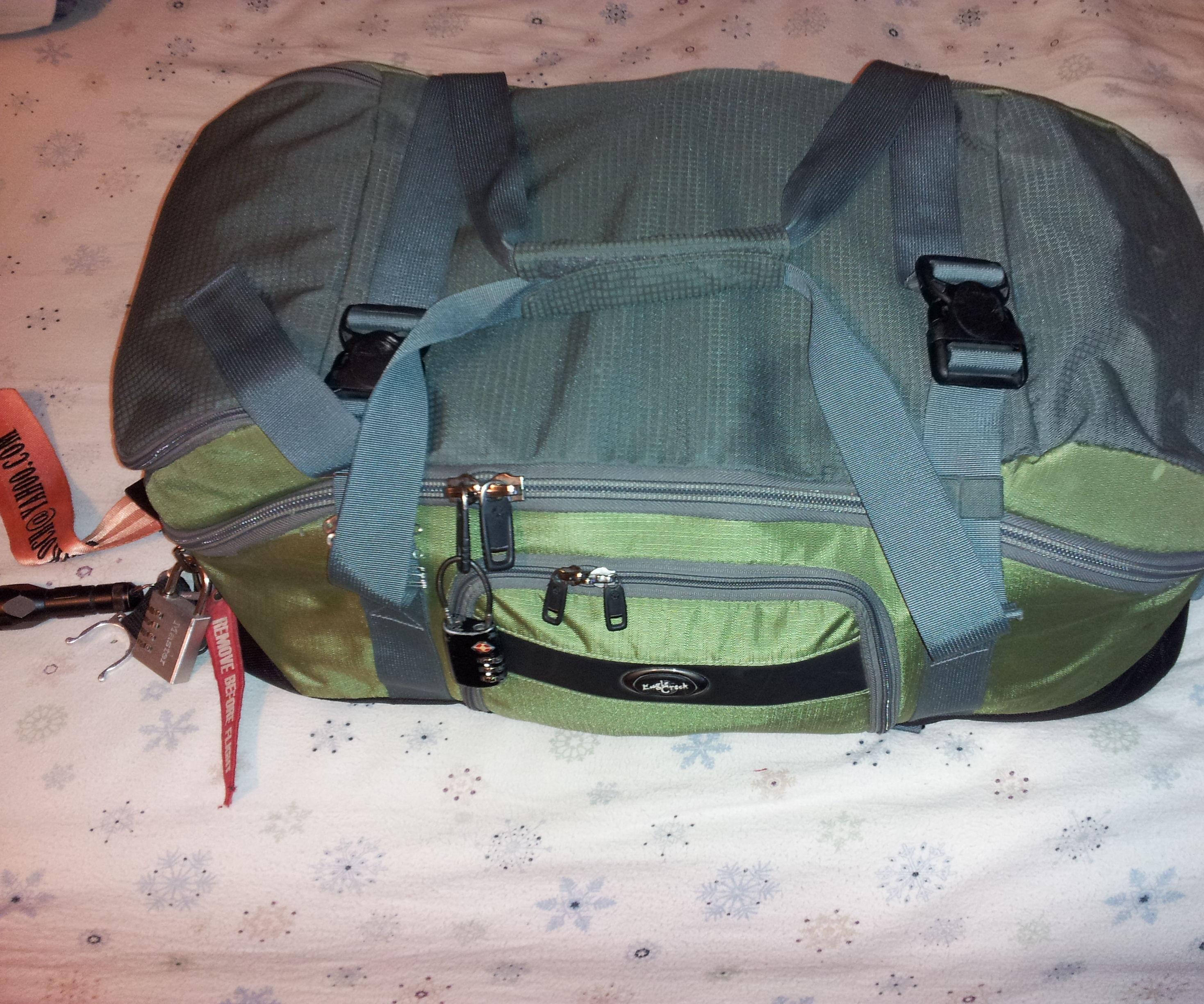 BOB Bag/72 Hour Kit