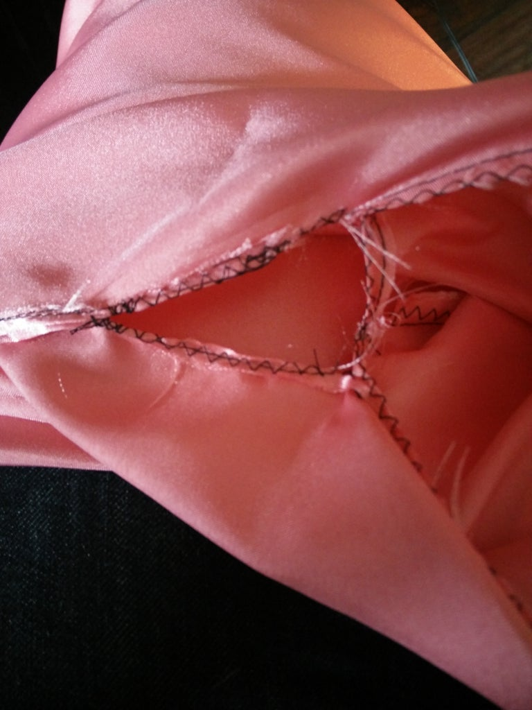 Attaching the Sleeves to Front and Back