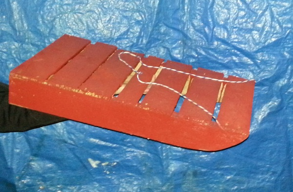 Recycled Wood Pallet Sled