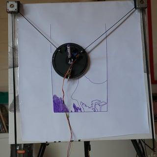 XY Plotter Drawing Robot   Arduino   Polargraph
