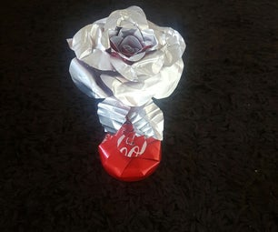 Rose From Coke Cans