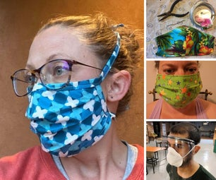 DIY Face Mask Projects