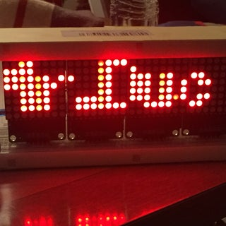Arduino - Mini Dot Matrix Display