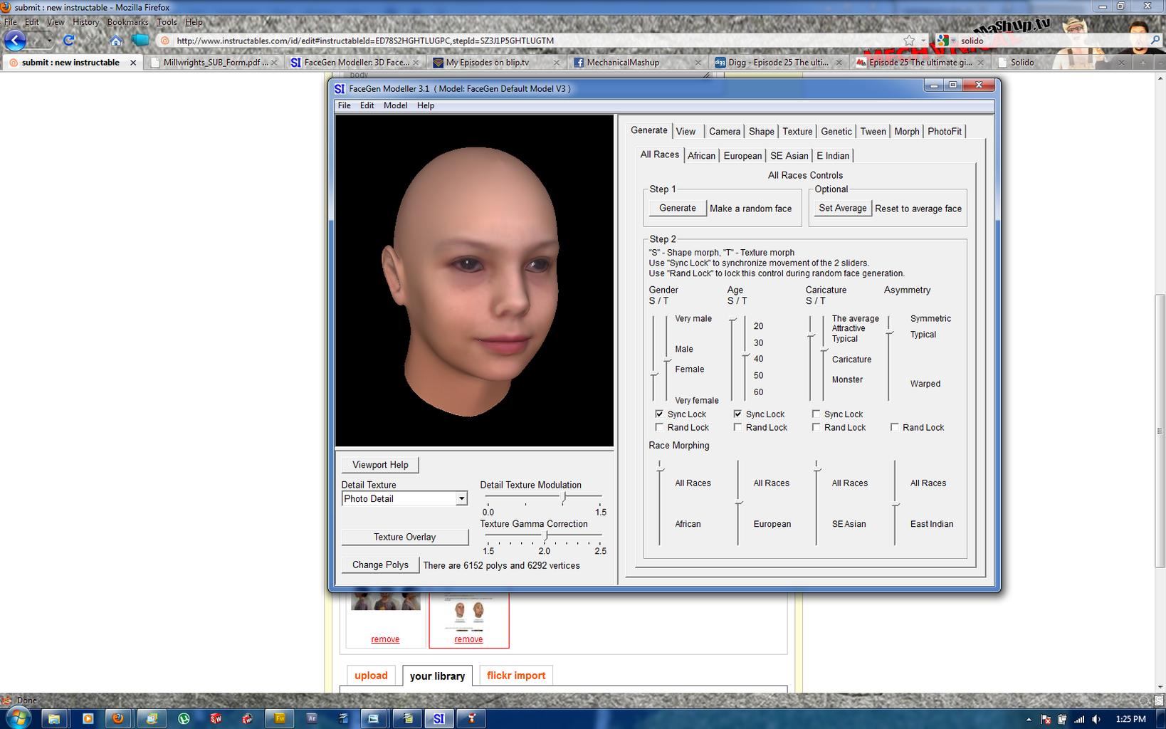 Digitizing the Face