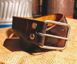 皮带与DIY钛扣