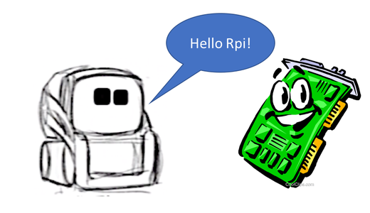 """New """"Hello World"""" With Cozmo and RPi"""