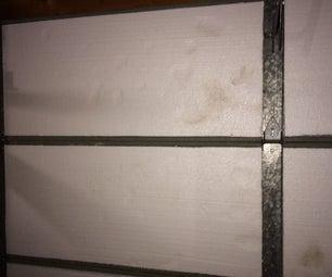 Insulating a Garage Door. CHEAP!