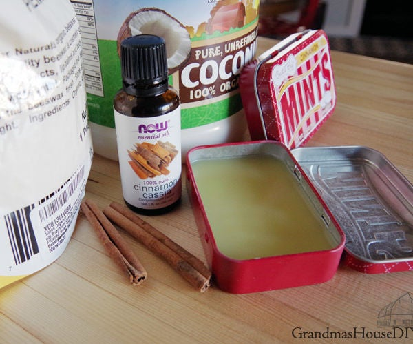 Hand Balm for Working Hands, Cinnamon Salve Recipe for Dry, Cracked Skin.