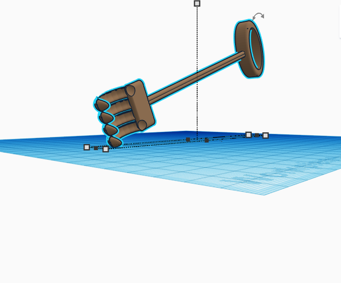 Back Scratcher    Silly Solutions    Tinkercad