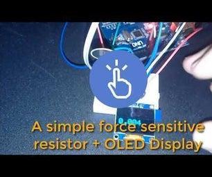 Force Sensing Resistor (FSR) Arduino Simple Tutorial