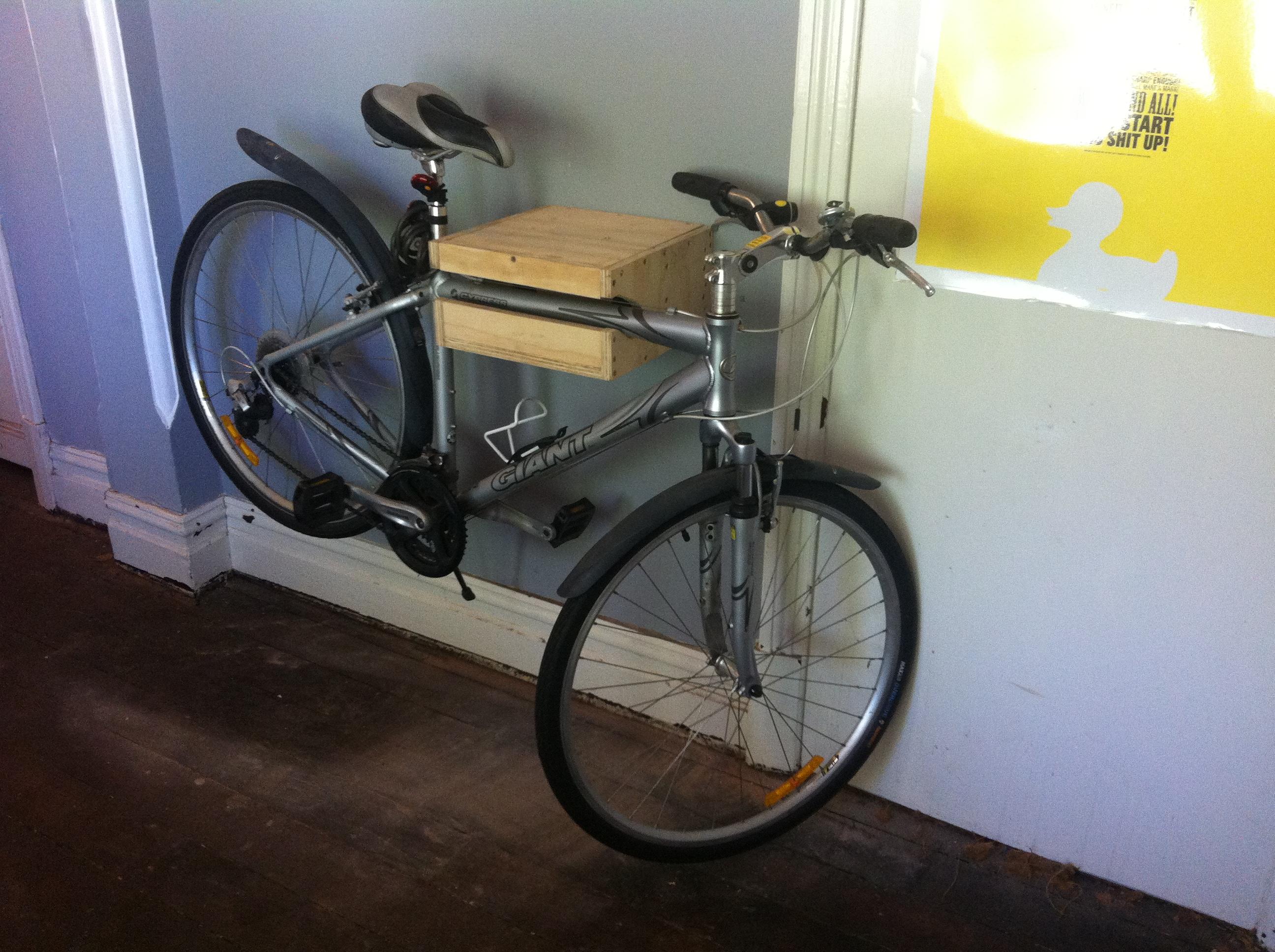 Bike Hanger Shelf