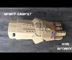 Infinity Gauntlet Controlled Home Automation