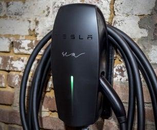 Installing a Tesla EV Charger