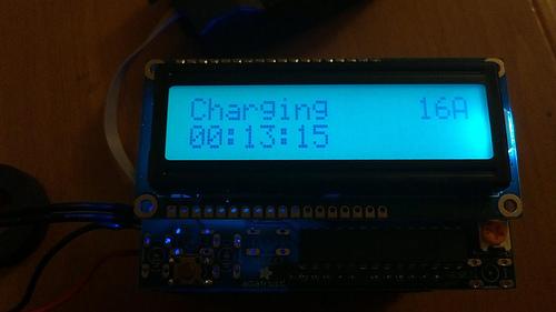 Arduino EV J1772 Charging Station